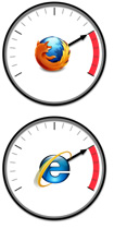 Browser Speedometer Graphics