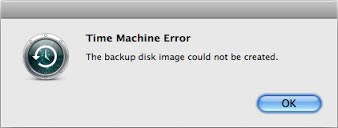 OS X Disk Error